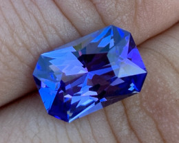 GIA Certified 5.00 ct Tanzanite - AAAA - Competition Level Cut by BTQ