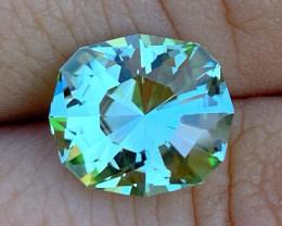 Gia Certified Paraiba Color Tourmaline - 5.18 cts - Glowing Neon