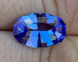 GIA Certified 5.11 ct Tanzanite - Competition Level Cut by BTQ
