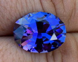 GIA Certified 11.12 ct Tanzanite - AAAA - Competition Level Cut $9200