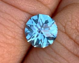 1.68 ct Frozen Blue Sapphire - Montana - VVS - Cut by BlueTourmalineQueen
