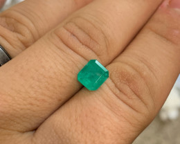 *NR* 2.30 ct GIA Certified Emerald - Colombia - Muzo Mine