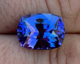 GIA Certified 10.67 ct Tanzanite - AAAA - Competition Cutting $8650