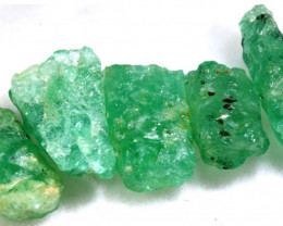 11.85 - CTS Emerald Rough  Parcel RG-4821