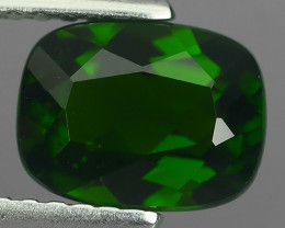 1.60 Cts MARVELOUS RARE  NATURAL TOP GREEN- CHROME DIOPSIDE DAZZL