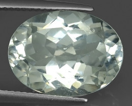 11.70 CTS SUPERIOR! TOP OVAL CUT WHITE TOPAZ GENUINE