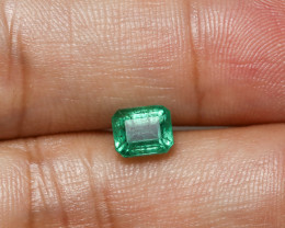 1.41ct Lab Certified Zambian Emerald