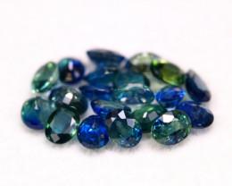 Sapphire 4.55Ct Natural Parti  Sapphire Lot  B0708