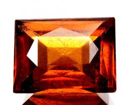 2.56 Cts Natural Cinnamon Orange Hessonite Garnet Radiant Cut Sri Lanka