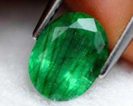 Emerald 1.77Ct Natural Colombia Green Emerald E0710