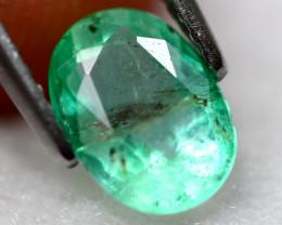 Emerald 1.28Ct Natural Colombia Green Emerald E0711