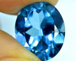 4.35 ct London Blue Topaz Gemstone