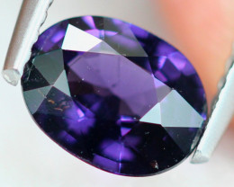 1.22ct Natural Purplish Spinel Oval Cut Lot S169