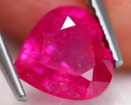 2.87ct Pinky Ruby Heart Cut Lot S171