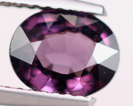1.24ct Natural Purplish Pink Spinel Oval Cut Lot S170