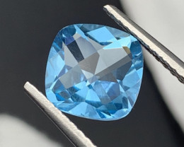 """""""NR""""4.95 Cts Top Quality Natural Topaz Master Cut"""