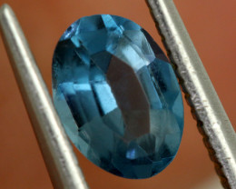0.90 -  CTS  NATURAL BLUE TOPAZ FACETED  BG-473