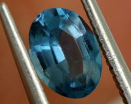 0.90 -  CTS  NATURAL BLUE TOPAZ FACETED  BG-473