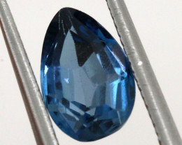 1.80-  CTS  NATURAL BLUE TOPAZ FACETED  BG-476