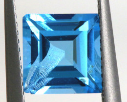 2.55-  CTS  NATURAL BLUE TOPAZ FACETED  BG-483