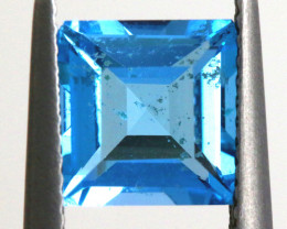 2.50 -  CTS  NATURAL BLUE TOPAZ FACETED  BG-484