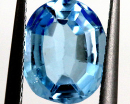 3.75-  CTS  NATURAL BLUE TOPAZ FACETED  BG-487
