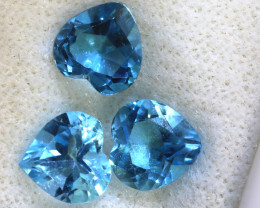 2.95 -  CTS  NATURAL BLUE TOPAZ FACETED PARCEL BG-491