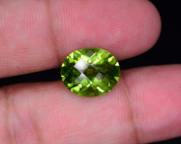 NR Peridot 5.50 Very Beautiful cut (Free Shipping DHL)