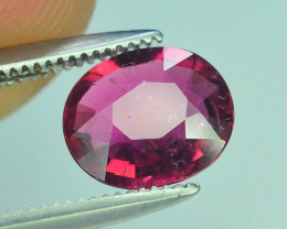 Top Color 1.05 ct Malawi Raspberry Pink Umbalite Garnet