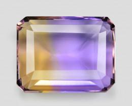 5.11  Cts Excellent Sparkling Bi Color Natural Ametrine Gemstone