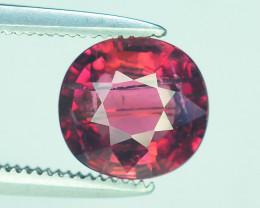 Top Color 1.55 ct Malawi Raspberry Pink Umbalite Garnet