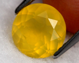 Fire Opal 1.44Ct Natural Faceted Mexican Orange Fire Opal D0809