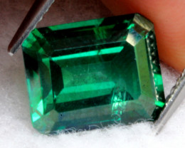 Topaz 4.91Ct Natural Vivid Green Color Topaz D0830