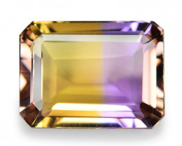5.97 Cts Excellent Sparkling Bi Color Natural Ametrine Gemstone