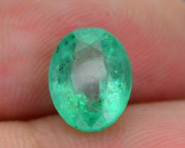1.96 ct Zambian Emerald Vivid Green SKU-30