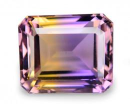 5.60 Cts Excellent Sparkling Bi Color Natural Ametrine Gemstone