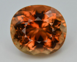 Top Quality 12.0 ct Champagne Color Topaz Skardu Pakistan