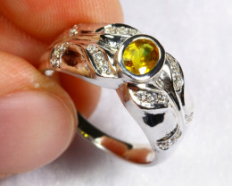 19.26cts Sterling Silver 925 Ring / N17