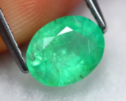 Emerald 1.33Ct Natural Colombian Green Color Emerald  B0805
