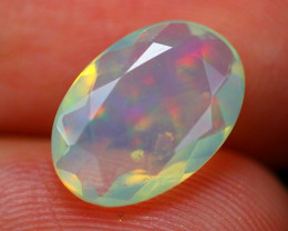 Welo Opal 1.78Ct Natural Ethiopian Faceted White Welo Opal  B0807
