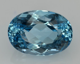 16.66 Cts Awesome Topaz Excellent Luster & Color Gemstone TP2