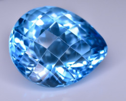 29.31 Crt Topaz Faceted Gemstone (R58)