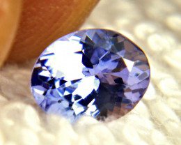 1.46 Carat VVS African Purplish Blue Tanzanite - Gorgeous