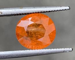 GFCO Certified 5.20 carats SPESSARTITE Garnet  Gemstone