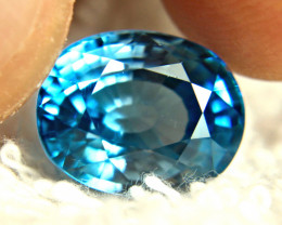 10.20 Southeast Asian Blue / White VVS1 Zircon - Superb