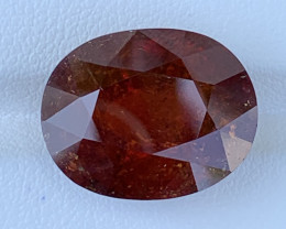 GFCO Certified 23.74 carats ALMANDINE SPESSARTINE Garnet  Gemstone