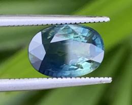 GFCO Certified 3.27 Carats Bi Color Sapphire Gemstones