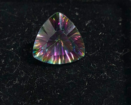 Cts Mystic Quartz Gemstone Trillion Cut OMR 381