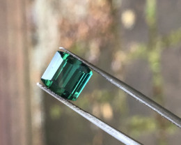 3.55 ct emerald green tourmaline Afghanistan.