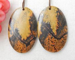 99cts Chohua Jasper Earring Pair, Chohua Jasper Beads ,jewelry making E454